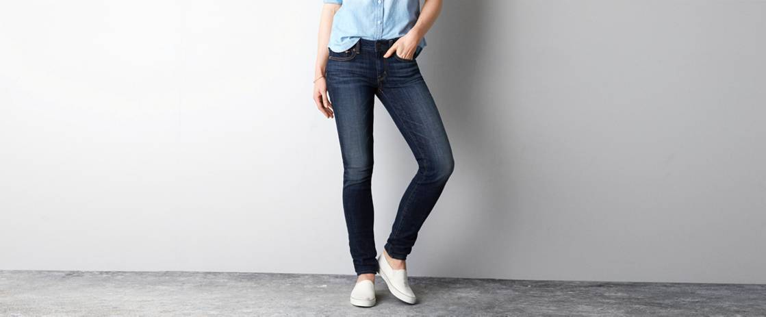 Dark Wash High-Rise Skinny Jean