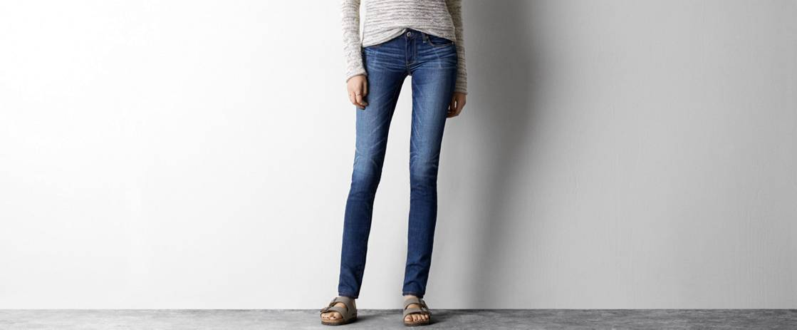 Medium Indigo Skinny Jean