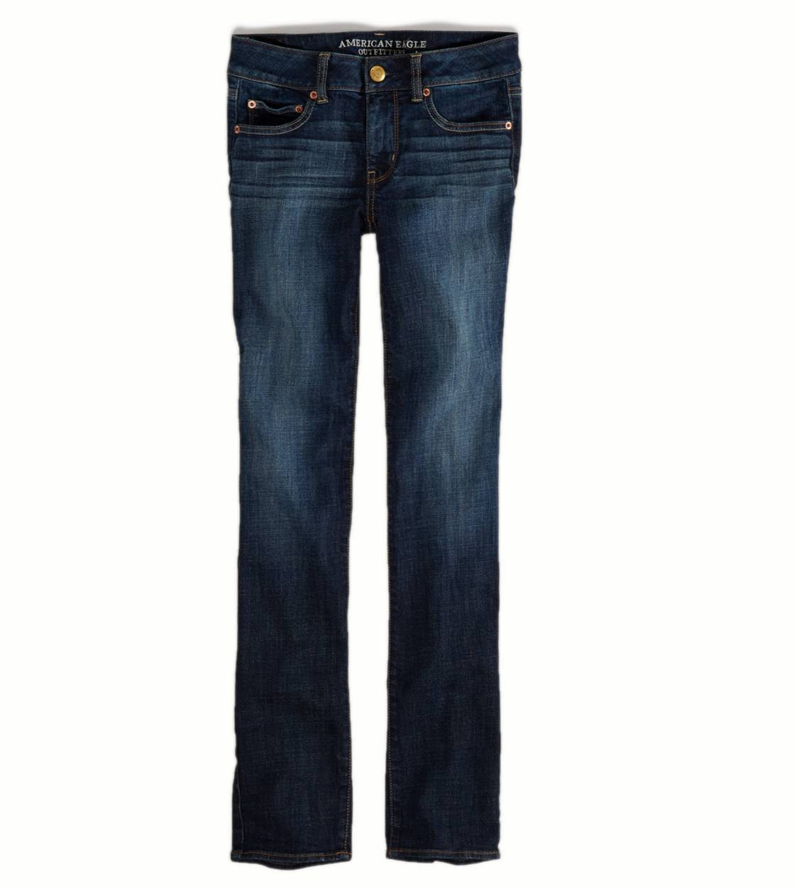 Dark Indigo Wash Straight Jean