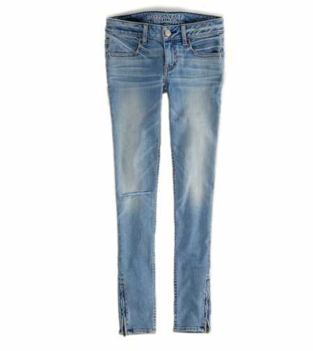 Jegging Ankle  - Light Destroy - Super Stretch
