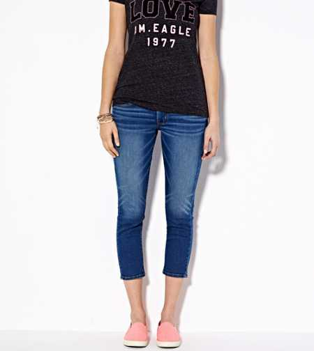 Skinny Crop Jean - Low Rise - Super Stretch