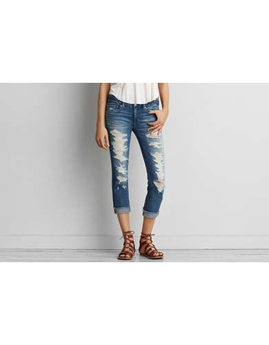 Womens Ripped Jeans - Destroyed, Distressed | American Eagle ...
