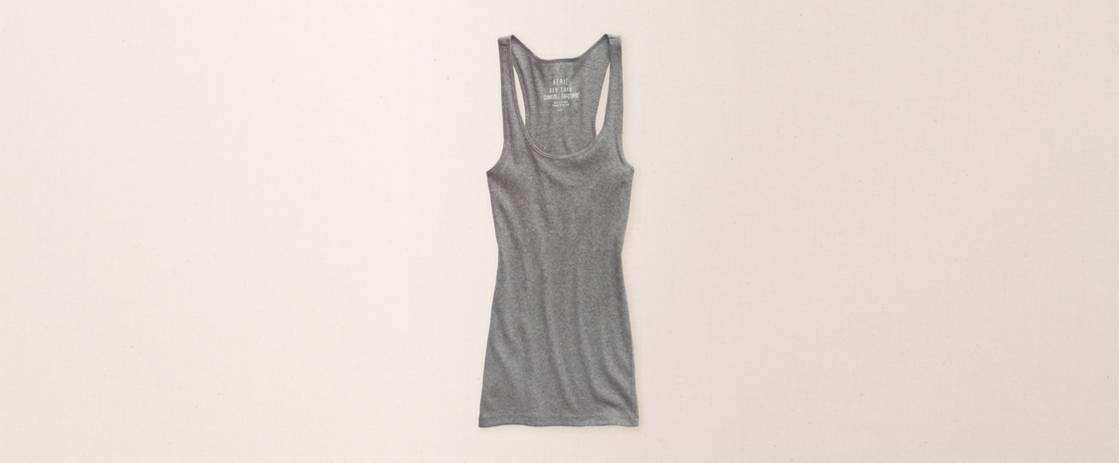Dark Heather Grey Aerie Boy Tank