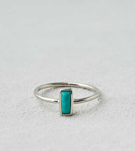 AEO Rectangle Turquoise Ring  - Buy One Get One 50% Off