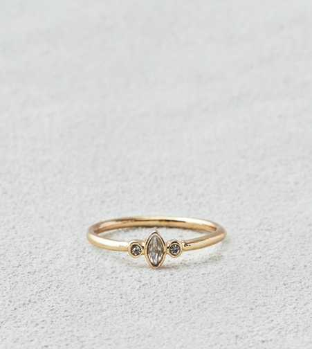 AEO Gold Sparkle Stone Ring  - Buy One Get One 50% Off