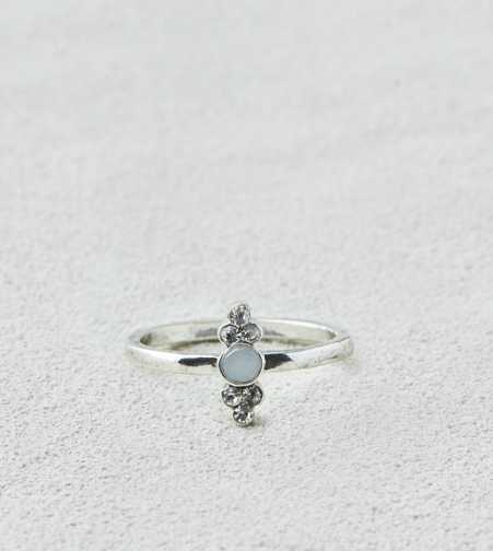 AEO Silver Sparkle Stone Ring  - Buy One Get One 50% Off