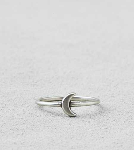 AEO Silver Moon Ring  - Buy One Get One 50% Off
