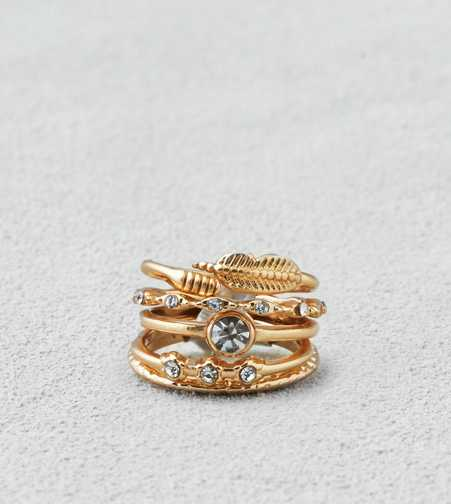 AEO Gold Leaf Ring  - Buy One Get One 50% Off