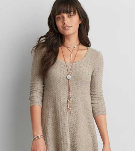 AEO Dusty Rose Bolo Necklace  - Buy One Get One 50% Off