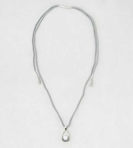AEO Blue Braid Pendant Necklace  - Buy One Get One 50% Off