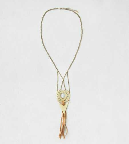 AEO Pendant Tassel Necklace  - Buy One Get One 50% Off