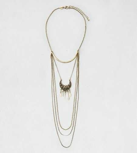 AEO Layer Draped Necklace - Buy One Get One 50% Off
