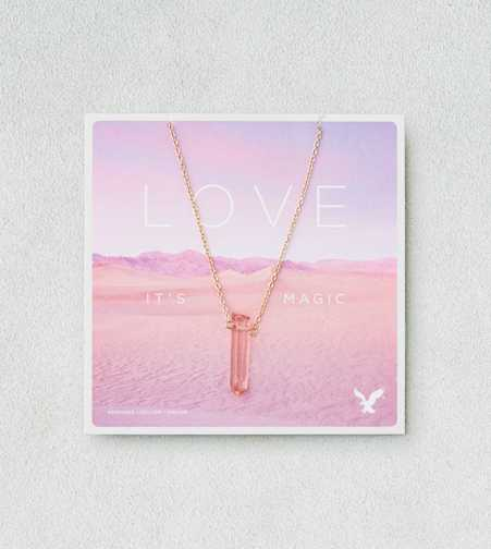 AEO Love Quartz Necklace  - Buy One Get One 50% Off