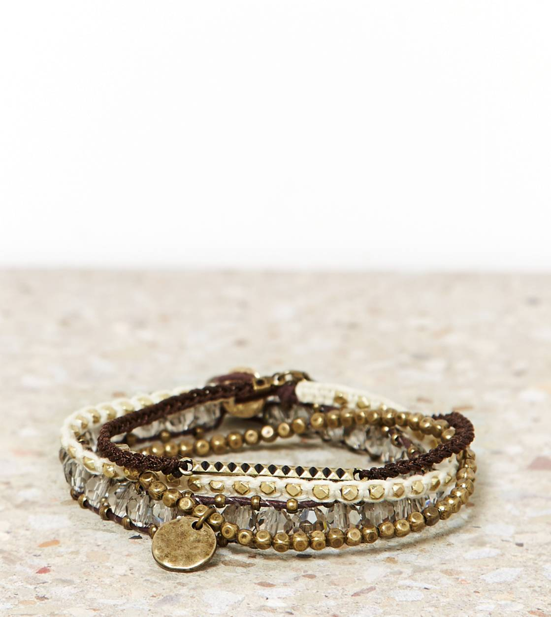 Gold AEO Arm Party Bracelet Set