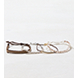 Mixed Metal AEO White Chain Braid Arm Party