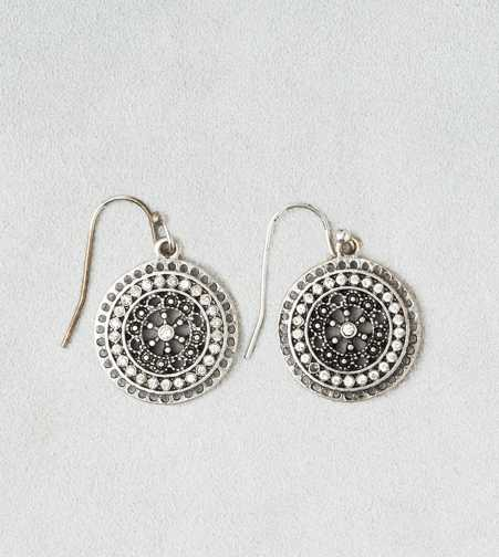 AEO Rhinestone Disc Earrings - Buy One Get One 50% Off
