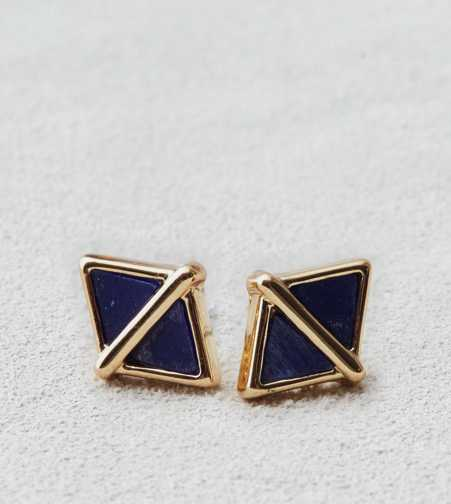 AEO Lapis Triangle Studs  - Buy One Get One 50% Off