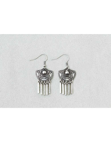 AEO Etched Chandelier Earrings  -