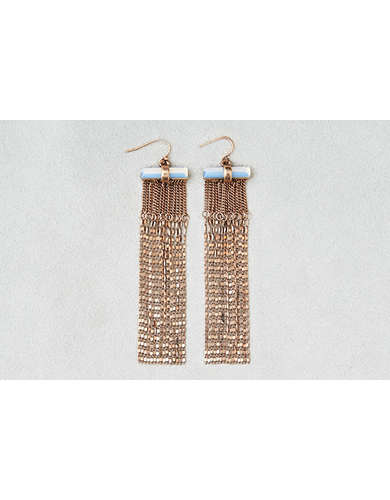 AEO Chain Shoulder Duster Earrings  -