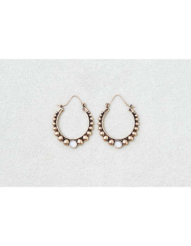 AEO Gold Ball Detail Hoops  - Buy One Get One 50% Off