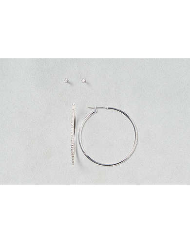 AEO Rhinestone Hoops & Studs - Buy One Get One 50% Off