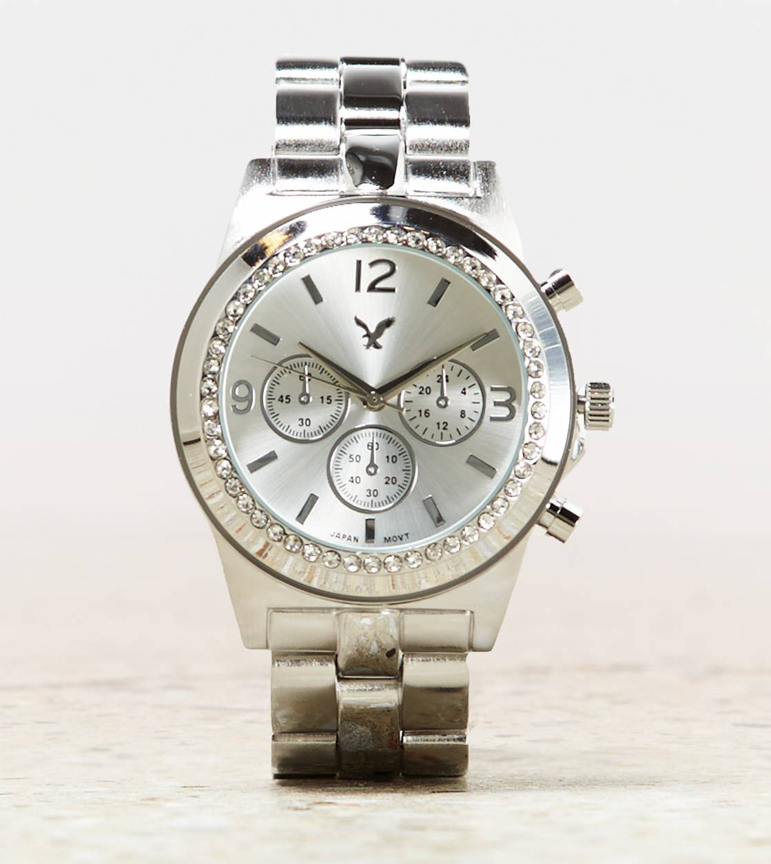 Silver AEO Silver Chronograph Watch