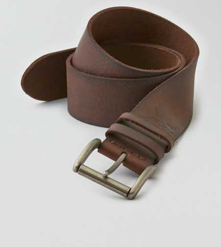 AEO Wide Leather Belt