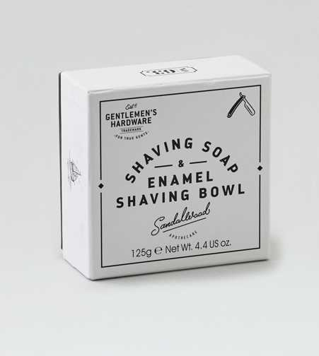 Wild & Wolf Gentlemen's Hardware Soap & Enamel Set