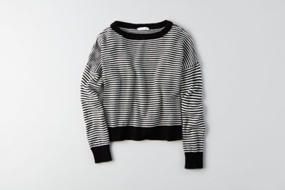 Boxy Crewneck Sweater