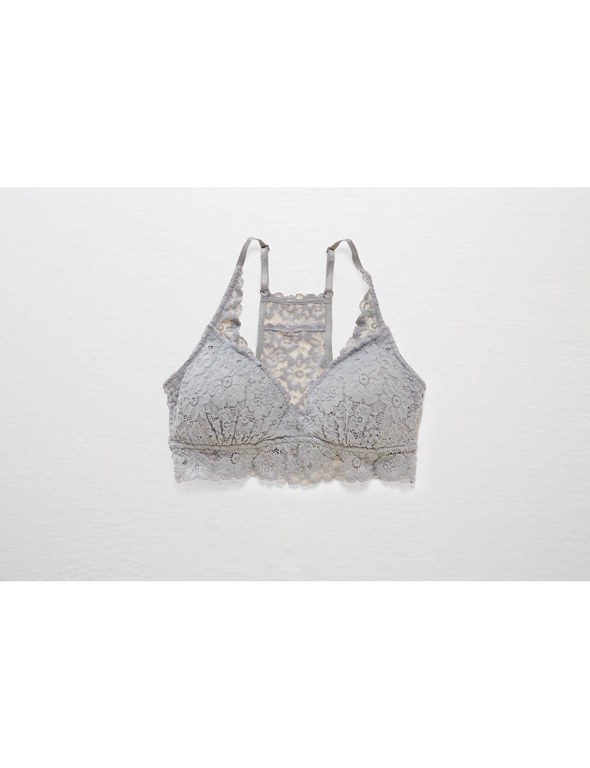 Display product reviews for Aerie Lace Pushup Racerback Bralette