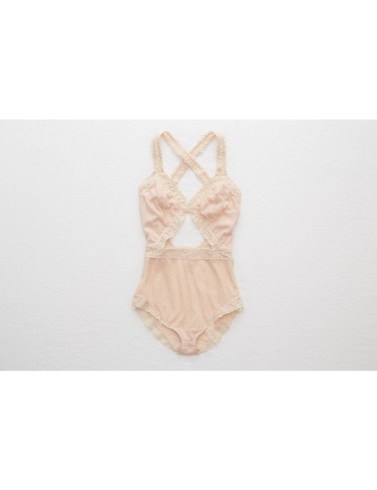 Display product reviews for Aerie Lace Cutout Bodysuit