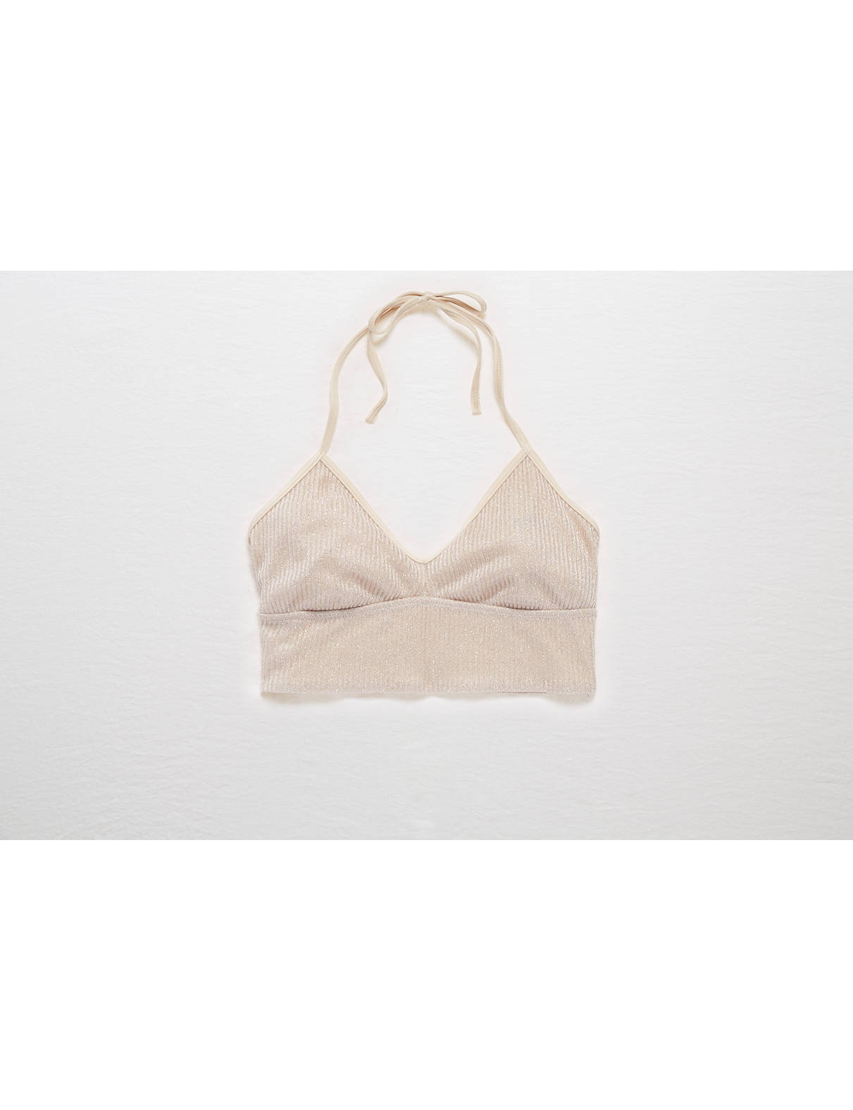 Display product reviews for Aerie Real Obsessed Halter Bralette