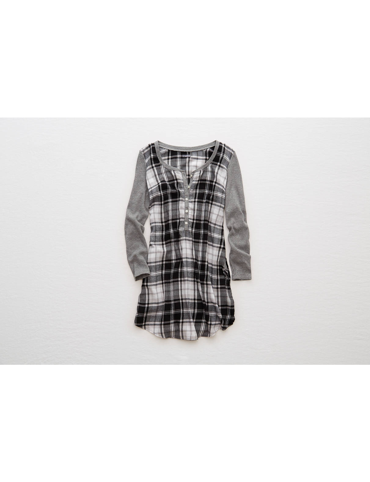 Display product reviews for Aerie Flannel Shirt Nightie