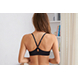 True Black Brooke Racerback Pushup Bra