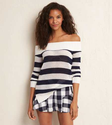 Aerie Off-The-Shoulder Sweater