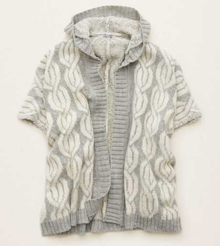 Aerie Hooded Sweater Poncho  - Buy One Get One 50% Off