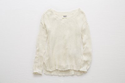 Aerie Braid Back Sweater