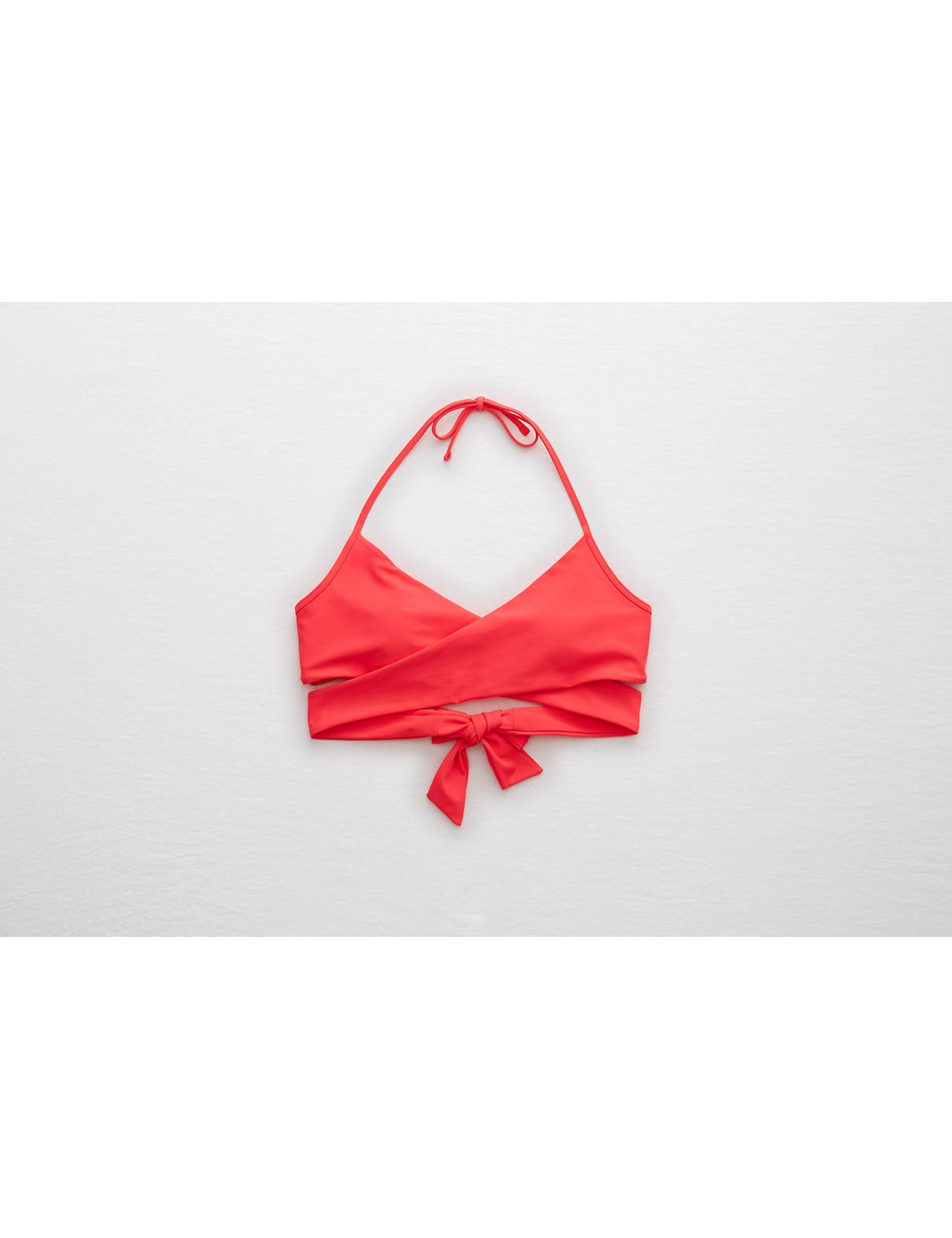 Display product reviews for Aerie Scoop Wraparound Bikini Top