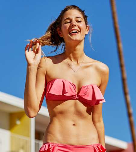 Aerie Bandeau Bikini Top  - Free Shipping & Returns