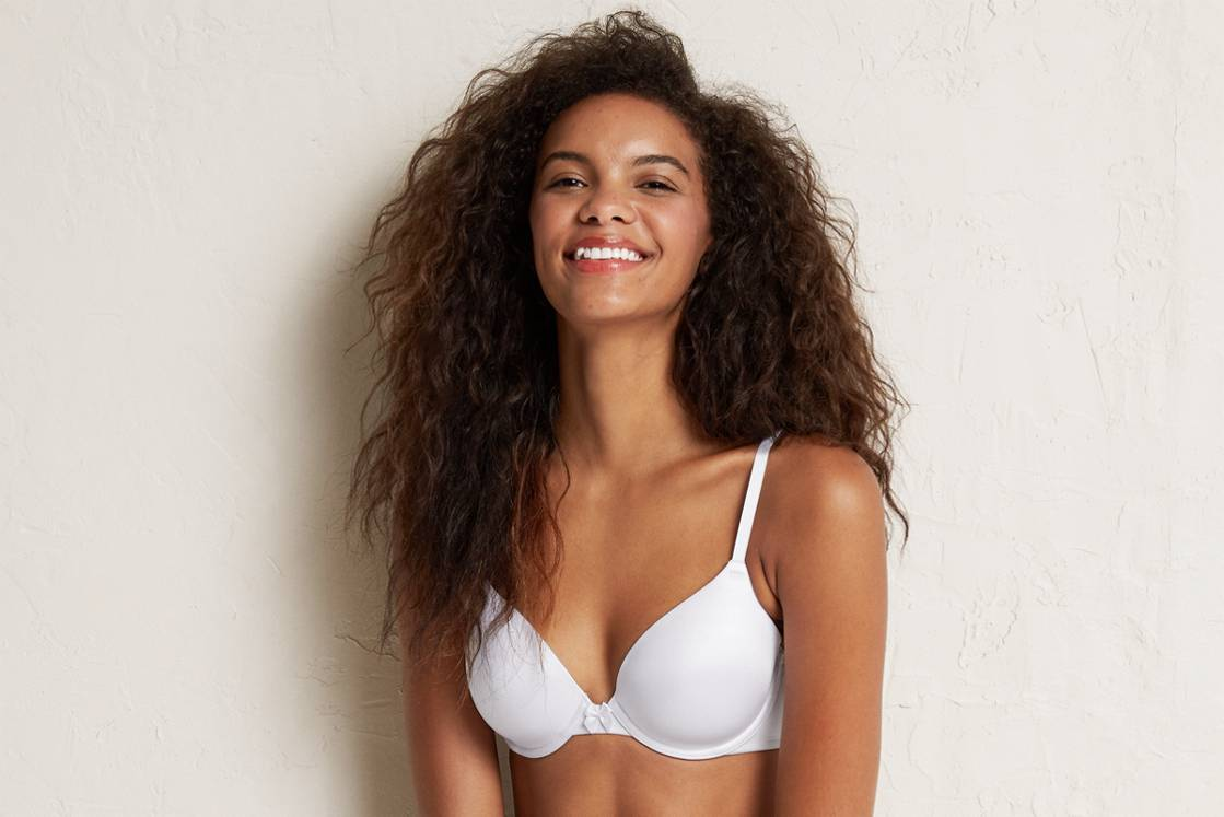 White  Sofie Lightly Lined Bra
