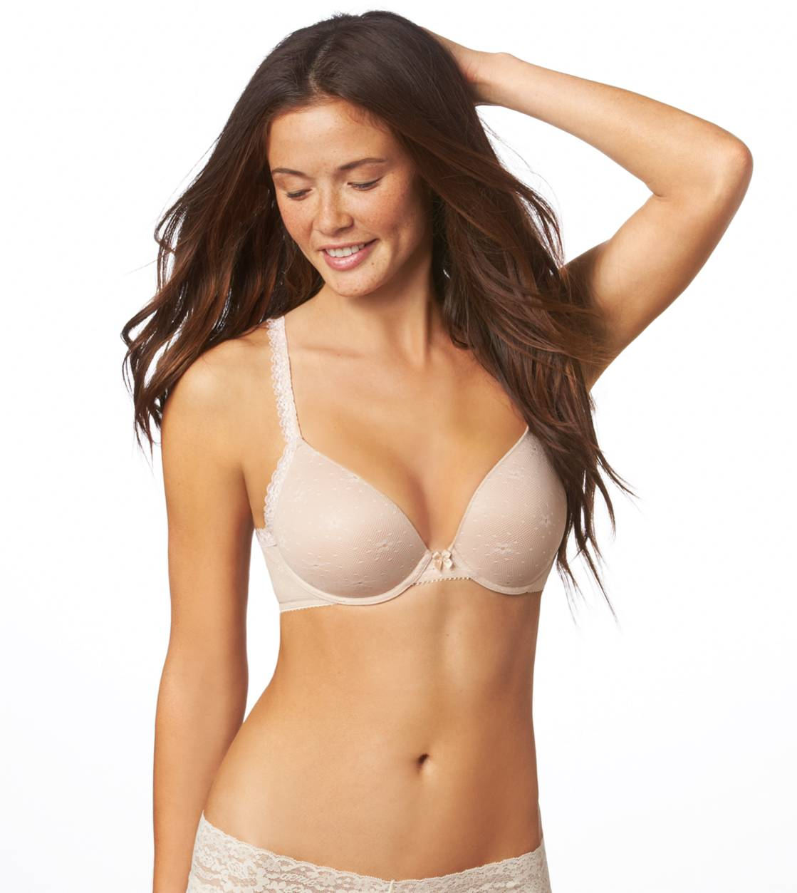 Natural Nude Sofie Lace Lightly Lined Bra