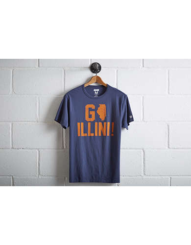 Tailgate Illinois Fighting Illini T-Shirt -
