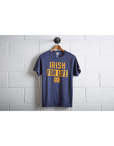 Tailgate Notre Dame Irish For Life T-Shirt -