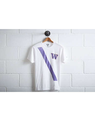 Tailgate Washington Huskies Stripe T-Shirt -