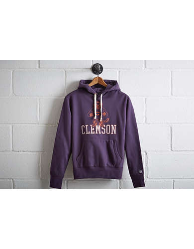 Tailgate Clemson Tigers Popover Hoodie -