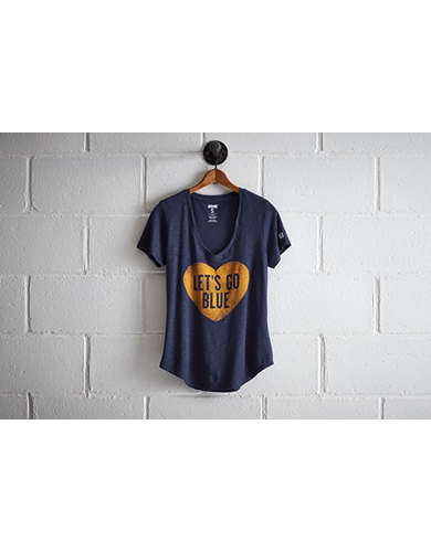Tailgate Michigan Go Blue V-Neck -