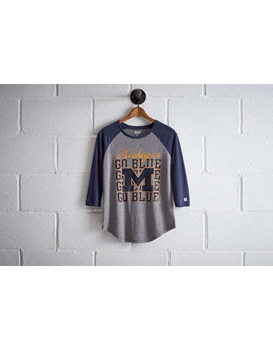Tailgate Michigan Go Blue Raglan -