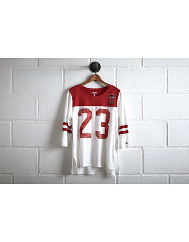Tailgate Texas Tech 3/4 Sleeve Jersey -