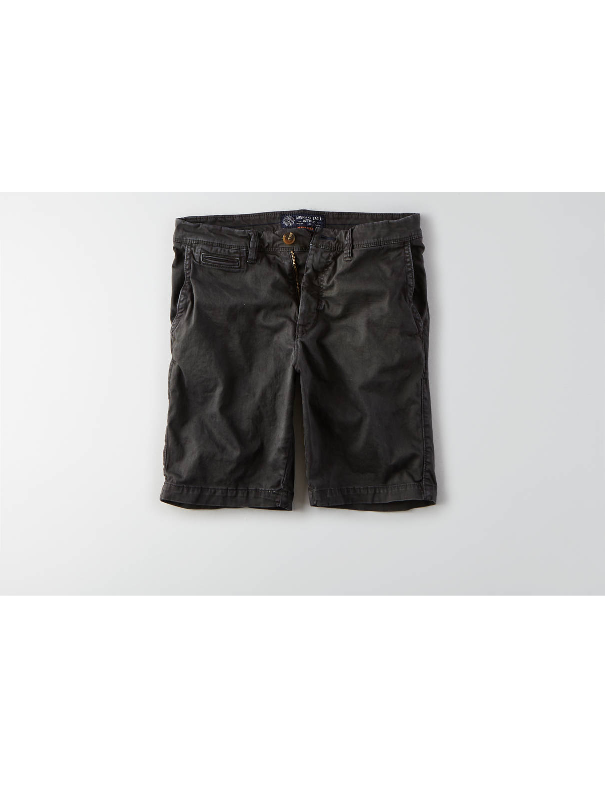 Display product reviews for AEO Active Flex Slim Flat Front Short