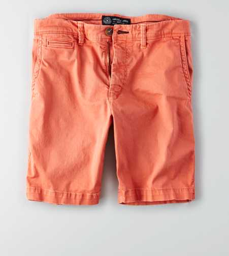 AEO Active Flex Slim Flat Front Short
